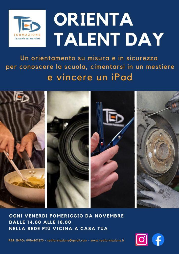 orienta talent day ted formazione professionale sicilia