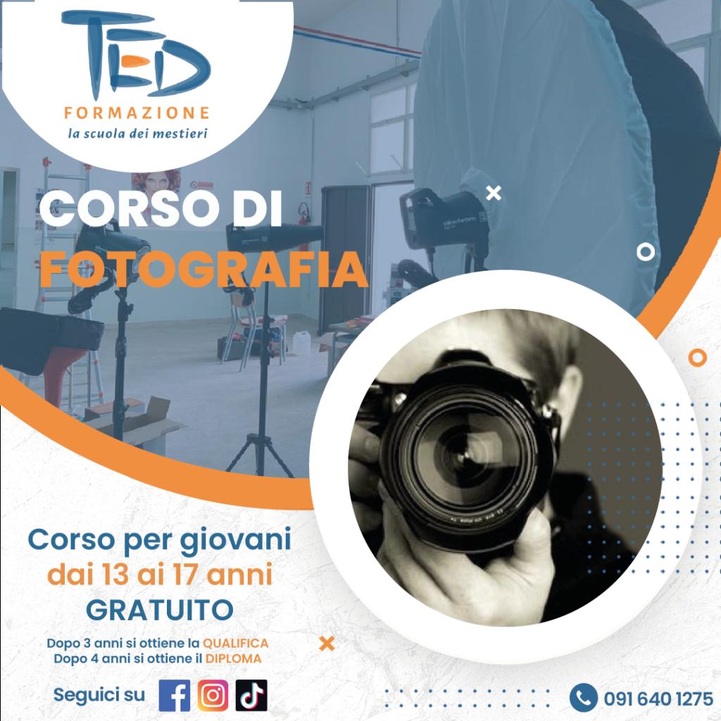 Ted Formazione professionale corso per diventare fotografo