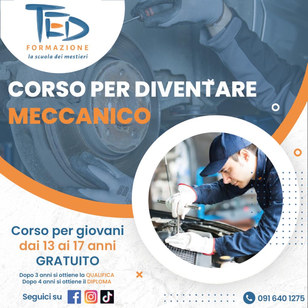 Ted Formazione professionale corso per diventare meccanico