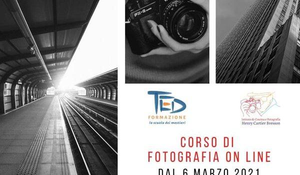 primo corso di fotografia online